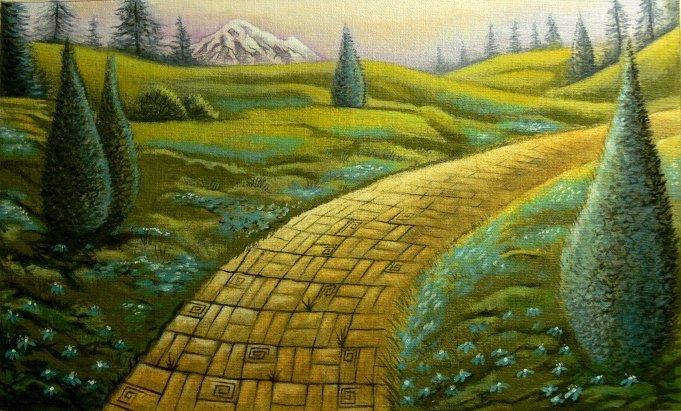 long winding path